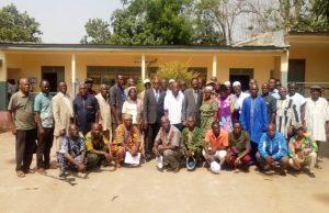 Photo de famille des membres de l'UNAFRET-CM