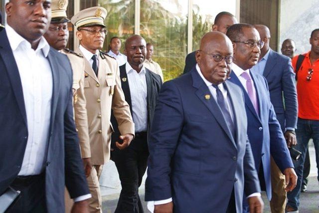 Nana Akufo-Addo vendredi à Lomé