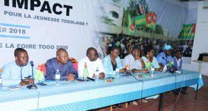Des responsables du bureau national du MJU