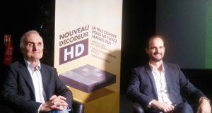 Jacques Dupuy et Alexandre COHEN lors du lancement