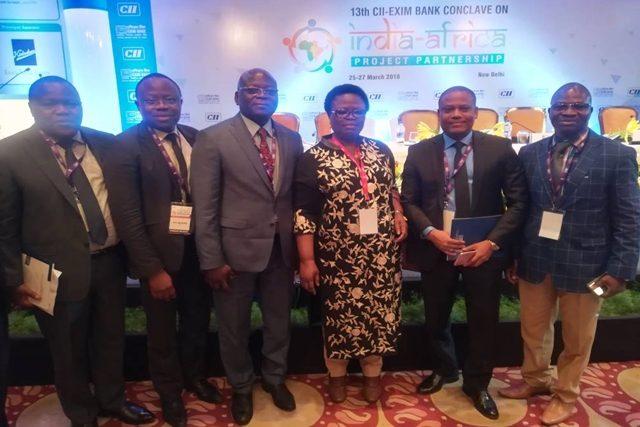 Des membres de la délégation togolaise