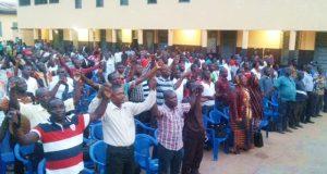 Image d'une assemblée générale de la STT