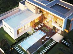Villa F7 sur 3000 m²
