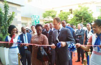 Inauguration du siège relooké de Total-Togo