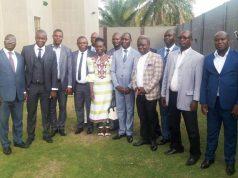 Les membres du nouveau bureau