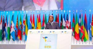 Le Ministre Robert Dussey à l'ouverture de la session