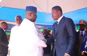 Julius Maada Bio et Faure Gnassingbé