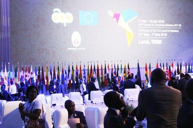 Fin de la 43ème session des ACP-UE à Lomé