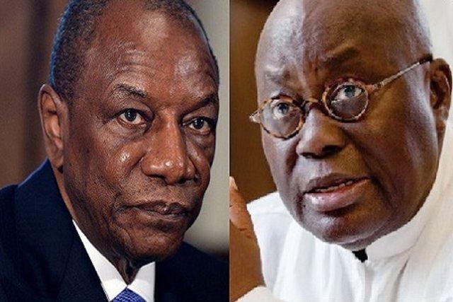 Alpha Condé et Nana Akufo