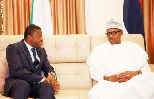 Faure Gnassingbé et Muhammadu Buhari