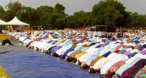 Une image de la prière