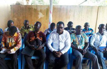 Une équipe de l'ONG IJD lors d'une campagne de sensibilisation