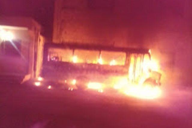 Incendie du bus