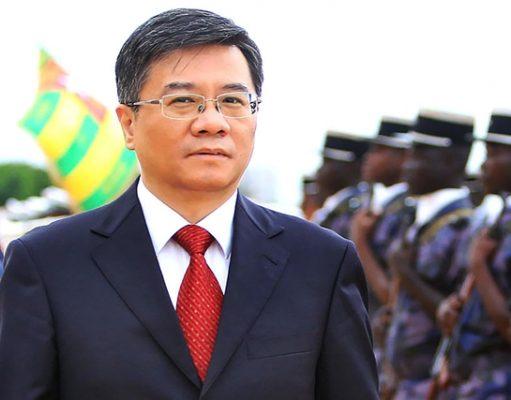Chao Weidong ce vendredi à Lomé