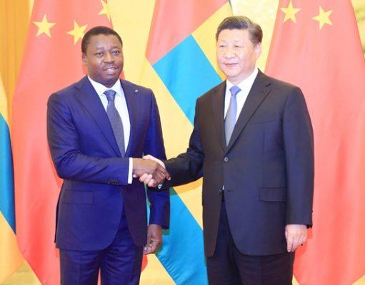 Faure Gnassingbé et Xi Jinping