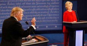 Les candidats à la Maison Blanche, Hillary Clinton et Donald Trump