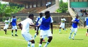 Eperviers du Togo en entrainement