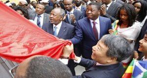 Faure Gnassingbé à l'inauguration de la nouvelle ligne ferroviaire entre Addis-Abeba et Djibouti