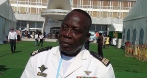 Le capitaine de vaisseau Nèyou Takougnadi