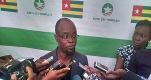 Le Délégué national aux affaires intérieures du Parti des Togolais, Gnimdéwa Atakpama.