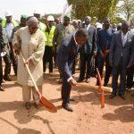 Faure Gnassingbé et Mme Khardiata Lo N'Diaye ont lancé les travaux