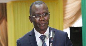 Le Ministre Sani YAYA en charge de l'Economie et des finances
