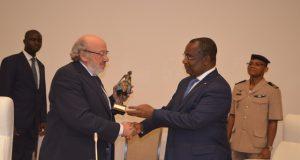 Louis MICHEL et le Premier ministre Komi Sélom Klassou