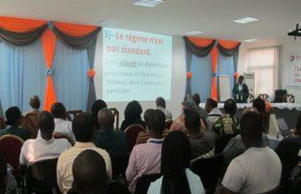 Le personnel de TOTAL-Togo sensibilisé contre le diabète