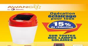 Les lampes « AWANGO » de TOTAL Togo