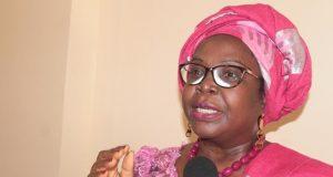 Brigitte Kafui Adjamagbo-Johnson, secrétaire générale de la CDPA
