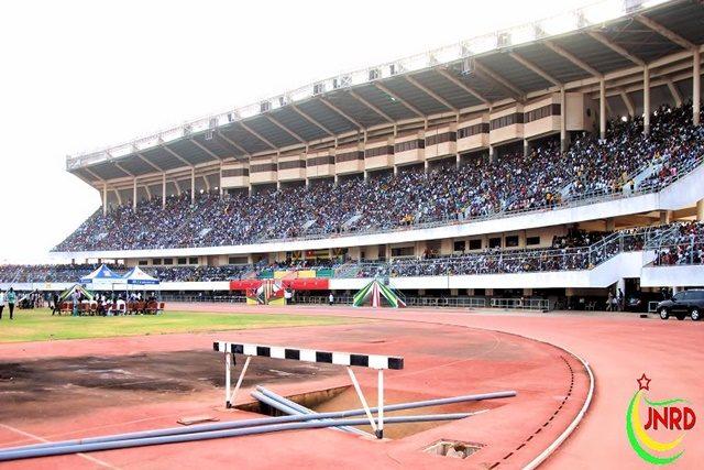 Le public au stade de Kégué