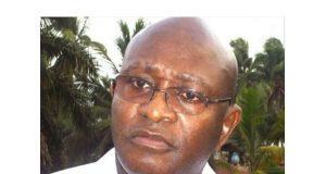 Le Président du PRR, Nicolas Lawson