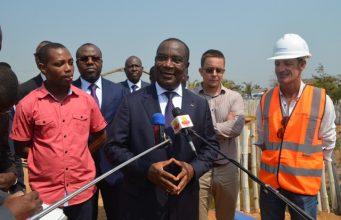 Le premier ministre, Komi Sélom Klassou constate l'état d'avancement des chantiers