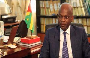 Robert Dussey, ministre chargé des affaires étrangères, de la coopération et de l'intégration africaine