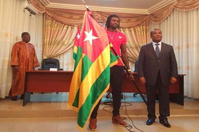 Emmanuel ADEBAYOR et le Premier ministre, Komi Sélom Klassou