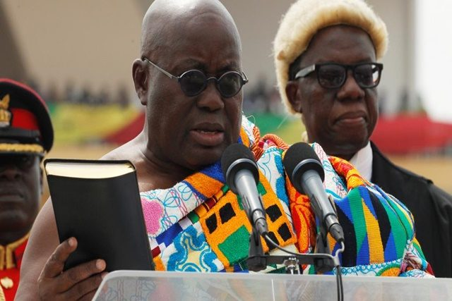 Nana Akufo-Addo, actuel Président du Ghana