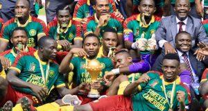 Les Camerounais, vainqueurs de la CAN 2017