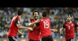 Les joueurs égyptiens