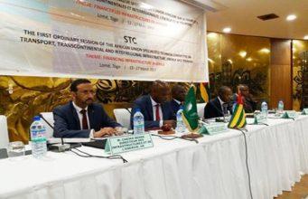 Au cours des travaux, le ministre Robert DUSSEY dans le compte du Togo