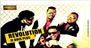 """Le groupe """" Revolution : Je bois plus """""""