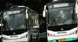 Les bus de SOTRAL