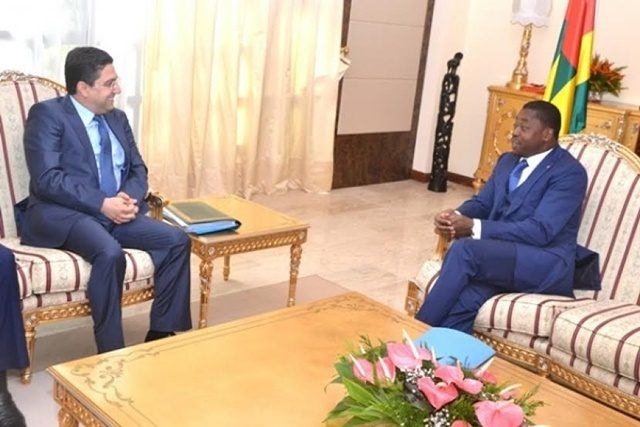 Nasser Bourita et Faure Gnassingbé