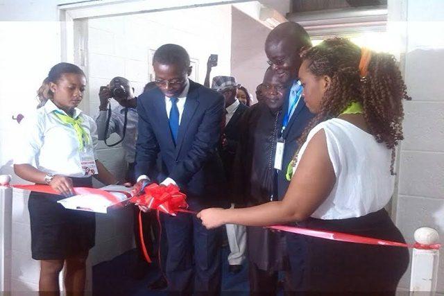 Le ministre Fiatuwo Kwadjo Sessenou lançant la 3ème édition du FEST'IMMO