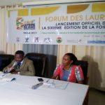Le comité d'organisation de la foire ADJAFI