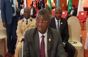 Colonel Yark Damehame, le Ministre togolais de la sécurité présent à cette réunion