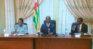 Le Premier Ministre Komi Sélom Klassou et son gouvernement