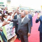 Ali Bongo et Faure Gnassingbé jeudi à Lomé