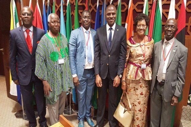 La délégation togolaise