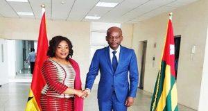 Les ministres Shirley Ayorkor BOTCHWEY et Robert DUSSEY