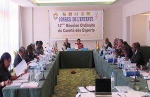 Ouverture de la réunion du comité des experts